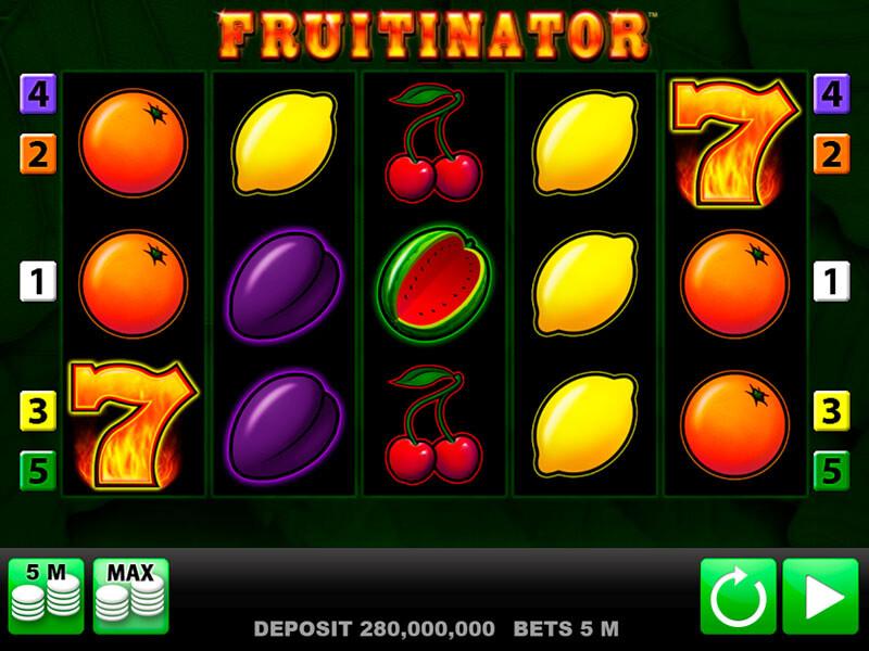 Der Spielautomat Fruitinator im Überblick